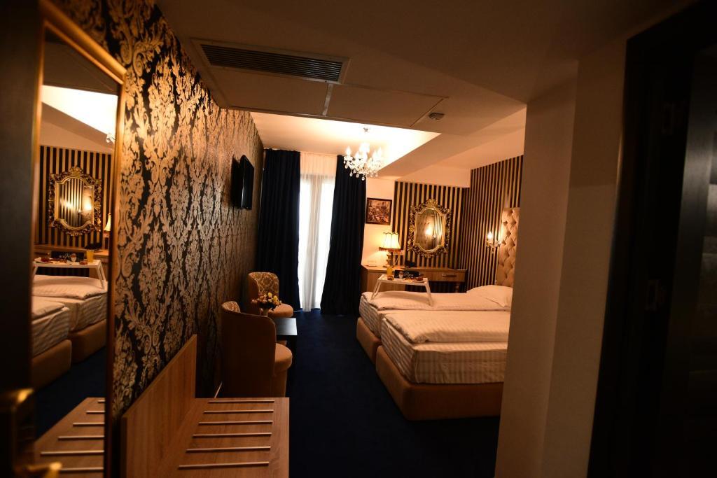 La Rocca Hotel Boutique – Events – Pool & Garden - Camera Matrimoniala/Twin - Viziune de ansamblu