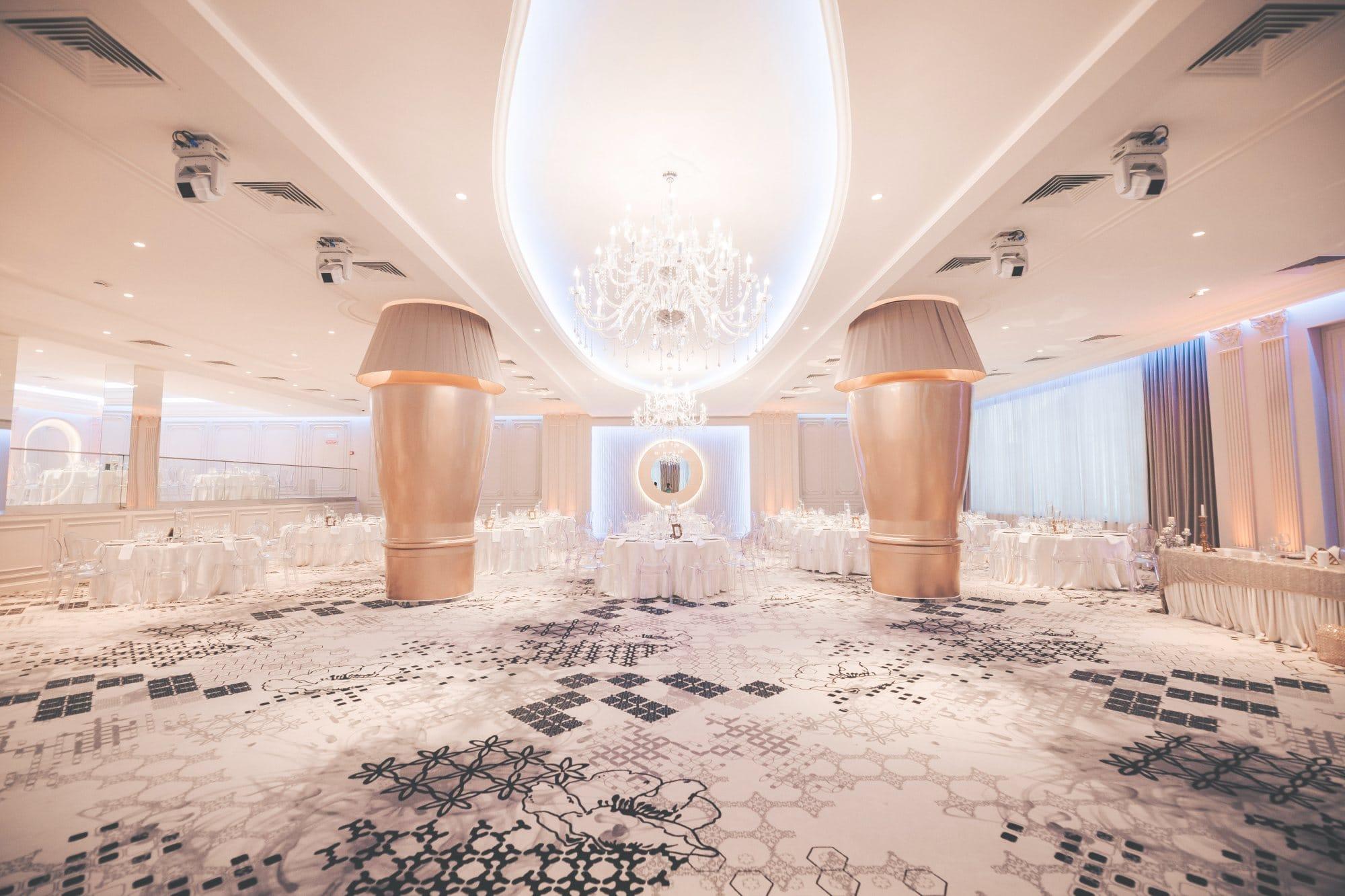 La Rocca Events - Sala Luxury - Viziune din fata