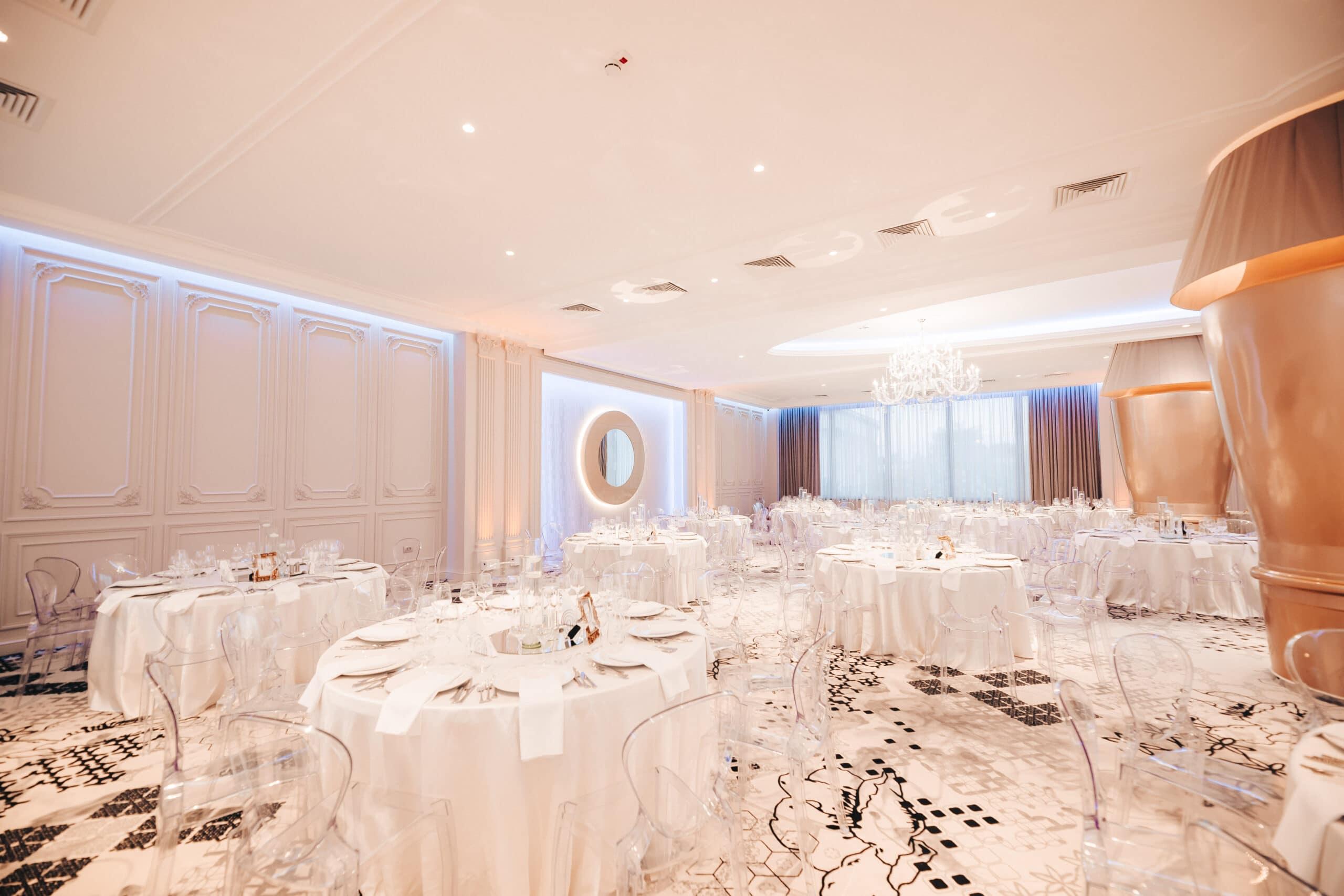 La Rocca Events - Sala Luxury - Viziune de ansamblu