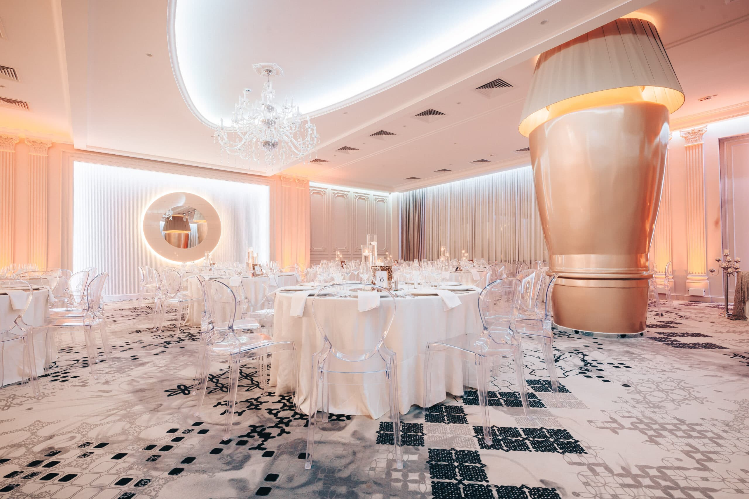 La Rocca Events - Sala Luxury - Detalii aranjare