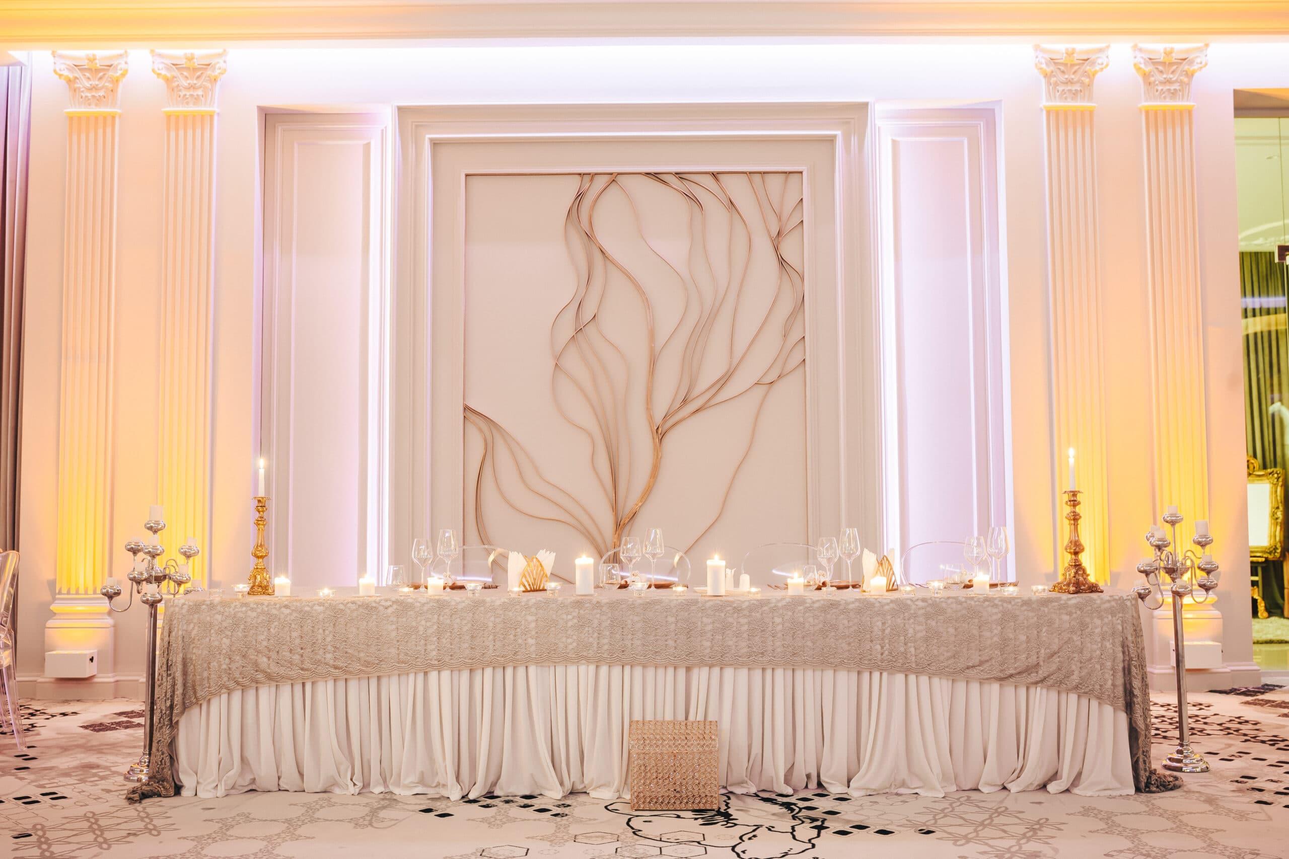 La Rocca Events - Sala Luxury - Masa mirilor