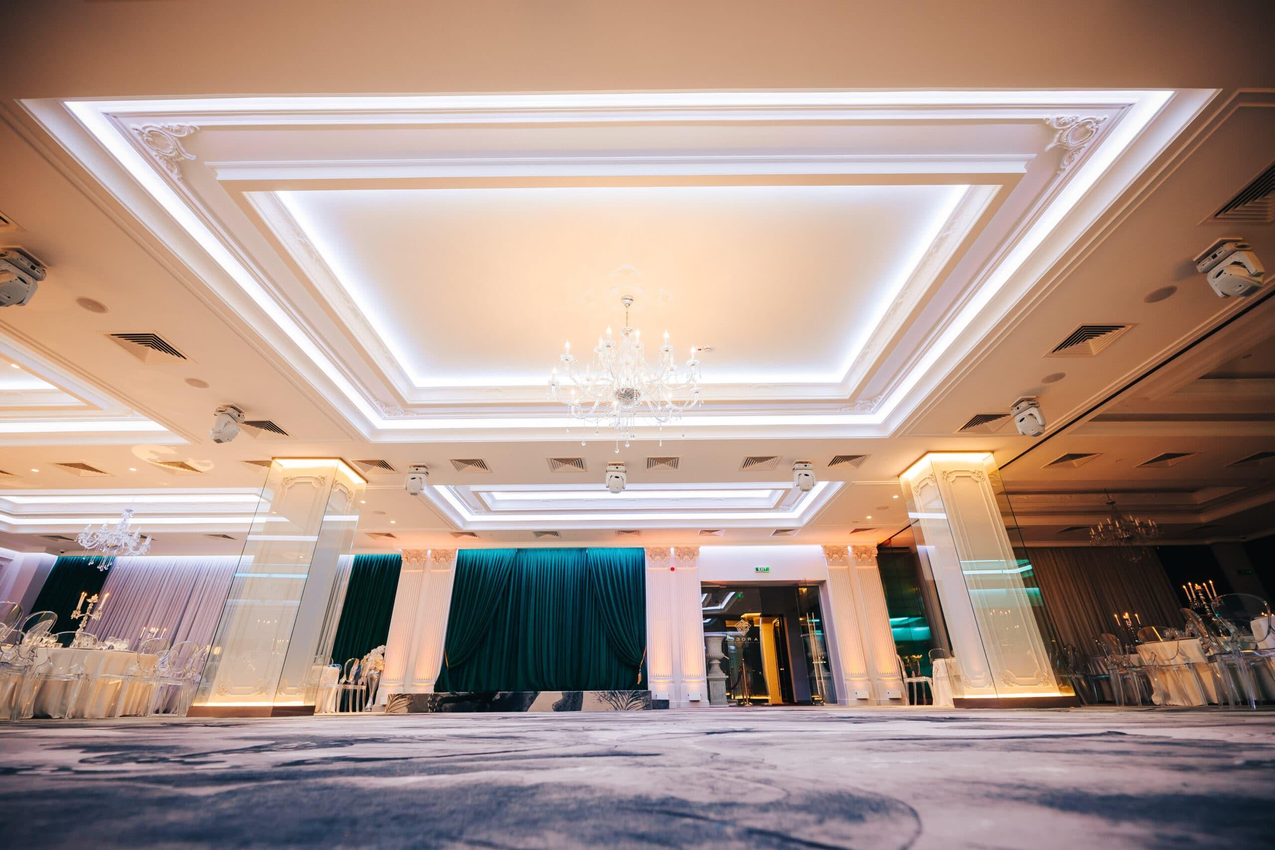 La Rocca Events - Sala Crystal - Ringul de dans - Viziune de ansablu